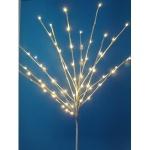 LED Lichterbaum 70er warmweiß110x50cm 24V IP64 außen Baum weiß 3364-102
