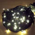 Micro LED Lichterkette 11, 85m 80er warmweiß 8 Funktionen außen 3614-110 xmas