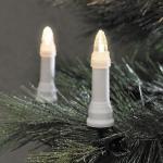 LED Weihnachtsbaumbeleuchtung 25er warmweiß außen ein Strang 19, 2m 1014-020