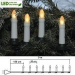 LED Weihnachtsbaumbeleuchtung 16er Lichterkette warmweiß 411-90
