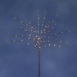 LED Lichterbaum 70er warmweiß110x50cm 24V IP64 außen Baum braun 3364-106