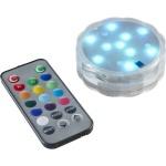 LED-Dekolicht Wasser-Kerze RGB Fernbedienung Poolbeleuchtung 063-02