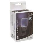 LED Nachtlicht mit Sensor Orientierungslicht für Steckdose 357-11