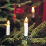 Weihnachtsbaumbeleuchtung 30er klare Birnen weiss innen Konstsmide 1996-000