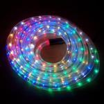 LED Lichtschlauch Lichterschlauch Superflex 6m bunt 13mm 556-02