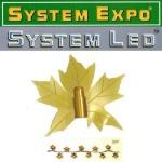 System Expo / System LED Dekor Cover Ahorn-Blatt 065-06