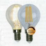 Illumination LED Filament Leuchtmittel GE14 230V 400lm 3, 2W 2700K dimmbar 352-15