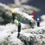 40er Mini-Lichterkette außen Birnen bunt Konstsmide 2004-500