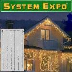 System Expo Lichtervorhang-Extra 102er klar 1x2m außen Best Season 484-32