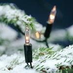 120er Mini-Lichterkette außen klar / grün Konstsmide 2060-000 xmas