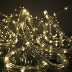 LED Lichtschlauch Lichterschlauch 9m warmweiß außen FHS 03180