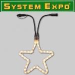 System Expo Lichtschlauch Stern Extra 28cm außen Best Season 484-40 xmas