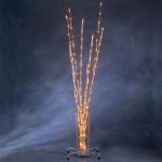 LED Acrylzweige-Set orange 8 Stäbe 128er Multifunktion innen / außen 4080-853