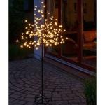LED Lichterzweig Lichterbaum 180 Blüten 150cm hoch warmweiß außen HI 76000
