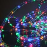 LED Lichtschlauch Lichterschlauch 9m multicolor 03647