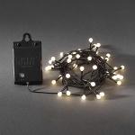 LED Globe Lichterkette 40er Batterie warmweiß Timer 6 / 9 Std. aussen 3740-100