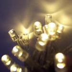 LED Lichterkette 100er warmweiß - transparent 10m aussen BA11692