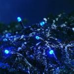 LED Lichterkette 40er blau außen 5, 85m Konstsmide 3040-400