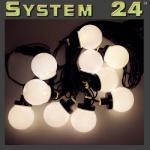 System 24 LED Party-Lichterkette 10er extra warmweiß 491-50 außen