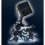 LED Solar-Lichterkette 100er kaltweiß / grün LK201I