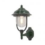 Alu Wandlleuchte PARMA grün Acrylglas außen Konstsmide 7223-600