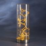 LED Lichterkette im Deko Glas 32er gelb Konstsmide 1228-000