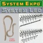System Expo extra Haken für Lichtschlauch, Lichterkette 065-04