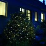 LED Lichtnetz Lichternetz 3, 2x1, 5m 200er warmweiß-grün außen FHS 02862 xmas