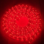 Lichtschlauch Lichterschlauch 10m rot außen BA11670