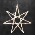 LED Acryl Stern 40x40cm 24er warmweiß Konstsmide 4441-103