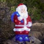 LED Acryl Weihnachtsmann 36x19cm 48 Dioden außen Konstsmide 6153-203 xmas