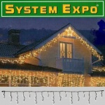 System Expo Icicle-Lichterkette-Extra 50er 3x0, 4m Best Season 484-30