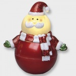 LED Figur pendelnder Weihnachtsmann 12x10cm Best Season 990-40