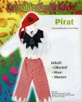 Karneval-Fasching-Kostüm 7-10 Jahre Pirat 3 teilig