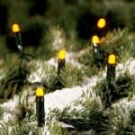 LED Lichterkette 8, 9m 100er gelb Konstsmide 3052-000