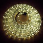 LED Lichtschlauch Lichterschlauch Superflex 6m warmweiß 13mm 556-00 außen xmas