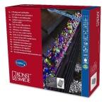 Micro LED Büschellichterkette Cluster 1160er bunt 6, 9m aussen 3794-500