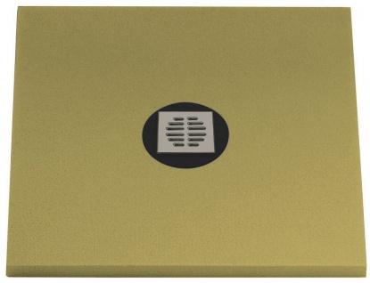 Duschboard + Ablauf bodengleiche duschen Duschelement Universalboard 100x100x5