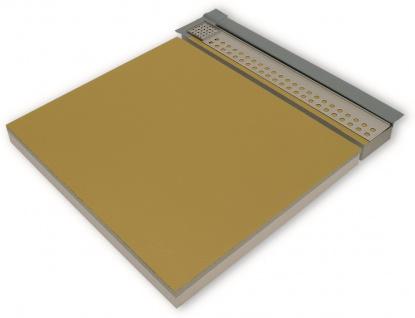 Duschboard | senkrechte Ablauf | werkseitiger Abdichtung | perfekt für die Renovierung/neubau
