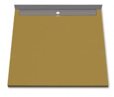 Duschboard | Ablauf waagerecht | werkseitiger Abdichtung | perfekt für die Renovierung/neubau