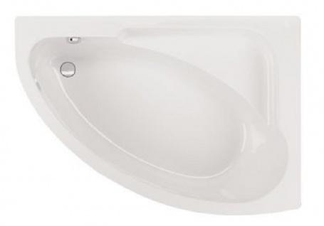 Badewanne-Acryl 150x104x40cm Wanne Raumspar Schürze Rechteck - Vorschau 2