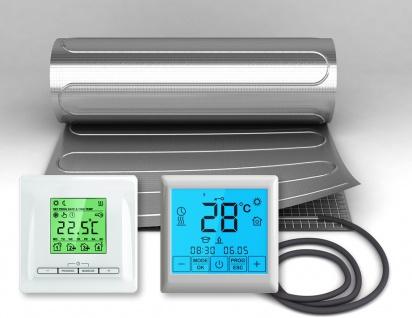 Thermostat FBHT + DFM Heizmatte 150W/m² VDE geprüft Fußbodenheizungssysteme