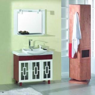 Badmöbelset Waschbecken Badezimmermöbel Spiegel unterschrank massivholz 2 wahl