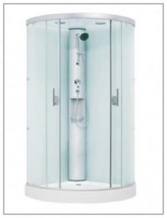 Duschkabine   Dampfdusche Dusche Rundumverglasung Sonderangebot aufbau ohne Silikon