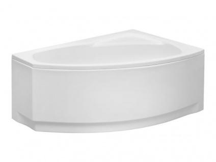 Badewanne | Wannen 150 x 90 cm Rechtseinbau inkl. Wannenfuß und Ablaufgarnitur