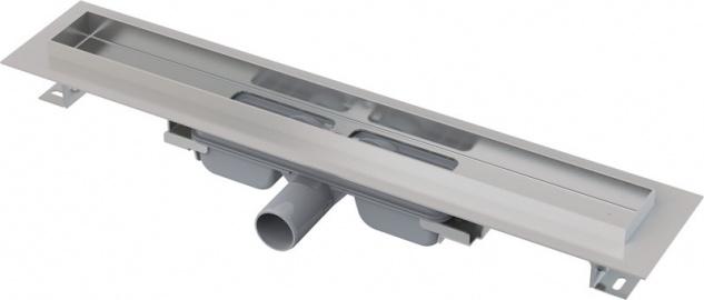 Ablaufrinne mit Rand für Rost und Fliesenverlegung Bauhöhe 65 mm