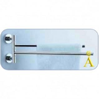 2-facher Handtuchhalter 384 x 133 x 55 mm
