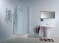 Duschabtrennung | Runddusche | Eckeinstieg | Dusche | Duschkabune | Echtglas