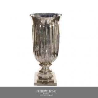 Silber Vase Glas Weihnachten Dekoration