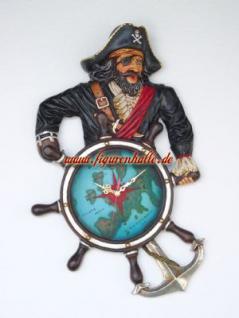 Piraten Wanduhr Uhr